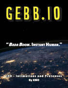 GEBB 100 – Intimations and Pretenses
