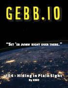 GEBB 104 – Hiding in Plain Sight