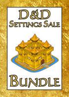 D&D Settings Sale [BUNDLE]