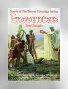 Encounters Free Sample (Swords of Kos Fantasy Campaign Setting)