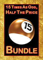 15 Times as Odd, Half the Price [BUNDLE]