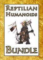 Reptilian Humanoids [BUNDLE] , from $11.95 to $5.95