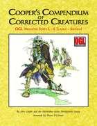 Cooper's Compendium of Corrected Creatures: OGL Monster Stats L – S (Lamia – Swarm)
