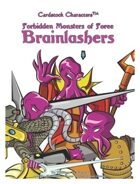 Forbidden Monsters of Foree: Brainlashers (Cardstock Characters™)