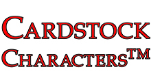 Cardstock Characters