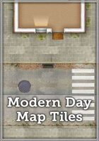 Modern Day Map Tiles
