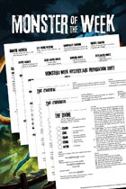 Monster of the Week: Revised Edition Handouts
