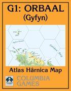 Atlas Map G1: Orbaal - Gyfyn
