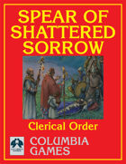 Larani: Order of the Spear of Shattered Sorrow