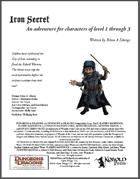 The Iron Secret for 4th Edition D&D