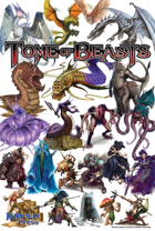 Tome of Beasts Poster Map