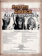 Alleys of Zobeck (Pathfinder RPG)