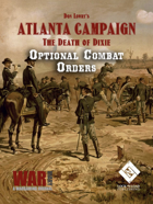 Atlanta Campaign - The Death of Dixie Optional Cards