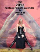 2013 Fantasy Female Calendar and Print Set