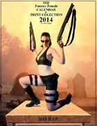 2014 Fantasy Female Calendar & Print Set