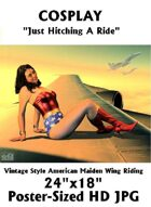 CosPlay: Hitching A Ride (Poster Sized HD Jpg)