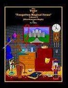 Forgotten Magical Items Volume II (1000 Miscellaneous Magic Items)