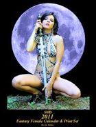 2011 Fantasy Female Calendar & Print Set