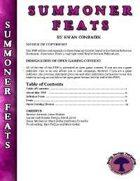 RDP: Summoner Feats