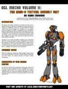 RDP: OGL Mecha 2 -- MMU-6 Tactical Assault Unit