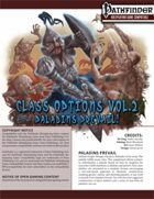 Class options volume II: Paladins Prevail!