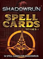 Shadowrun: Spell Cards, Series 1