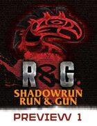 Shadowrun: Run & Gun, Preview #1