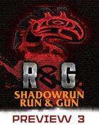 Shadowrun: Run & Gun, Preview #3