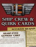 Leviathans: Ship Crew and Quirk Cards