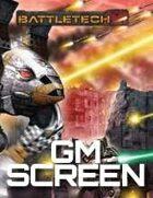 BattleTech: A Time of War GM Screen