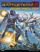 BattleTech: Record Sheets: 3039