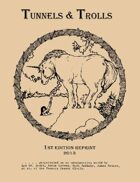 Tunnels & Trolls 1st Edition reprint