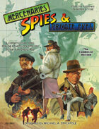 MSPE-Mercenaries, Spies and Private Eyes: Combined Edition RPG