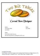 Two Bit Tables: Cursed Item Designer