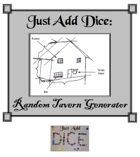 Just Add Dice: Random Tavern Generator