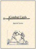 Combat Cards: Special Tactics
