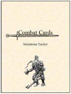 Combat Cards: Monstrous Tactics