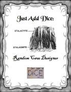 Just Add Dice: Random Cave Designer
