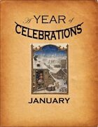 A Year of Celebrations: January