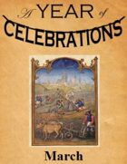 A Year of Celebrations: March