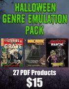 Halloween Genre Emulation Pack [BUNDLE]