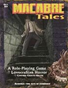 Macabre Tales rulebook