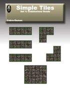 Simple Tiles Set 1: Cobblestone Road