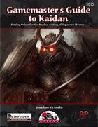Game Master's Guide to Kaidan