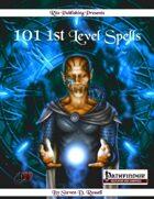 101 1st Level Spells (PFRPG)