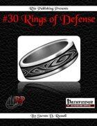 #30 Rings of Defense (PFRPG)