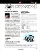 Zor Draxtau, Issue II