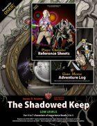 The Shadowed Keep/GM Forms [BUNDLE]