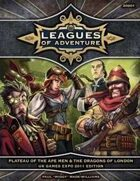 Leagues of Adventure - Plateau of the Ape Men