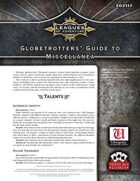 Leagues of Adventure - Globetrotters' Guide to Miscellanea